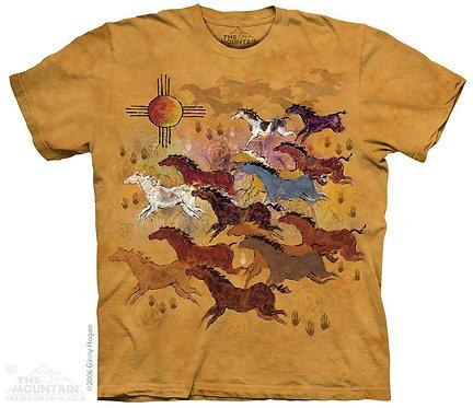 Horses and Sun T-Shirt