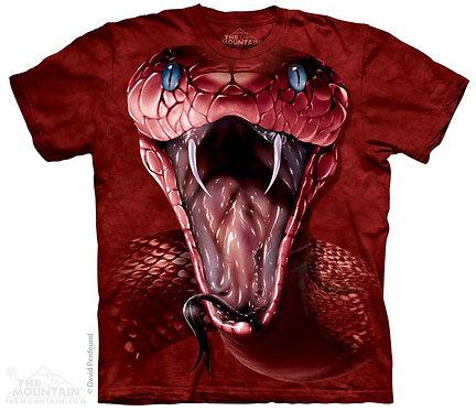 Red Mamba Face T-Shirt