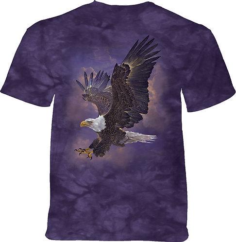 Eagle Violet Sky