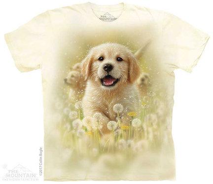Kids Golden Puppy T-Shirt