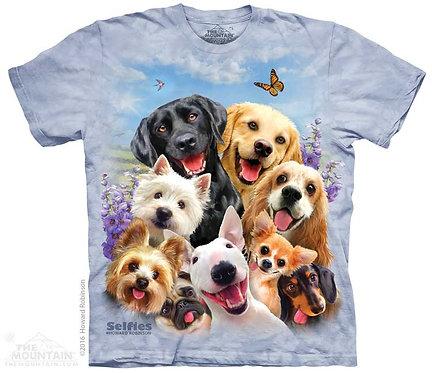 Dogs Selfie T-Shirt