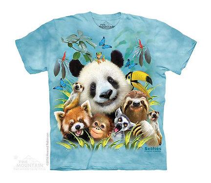 Zoo Selfie Kids T-Shirt
