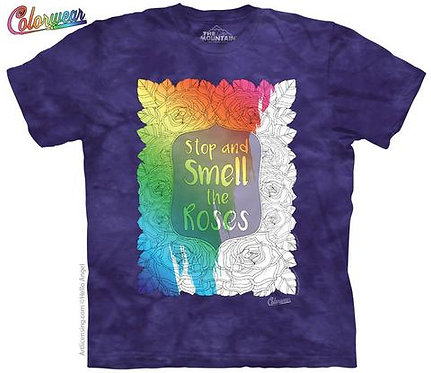 Big Beautiful Blossoms 24 by Hello Angel Colorwear T-Shirt