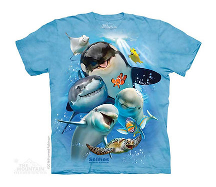 Ocean Selfie Kids T-Shirt