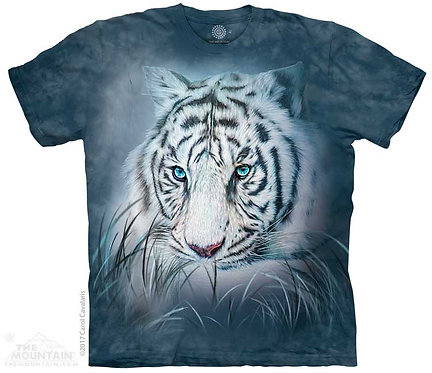 Kids Thoughtful White Tiger T-Shirt