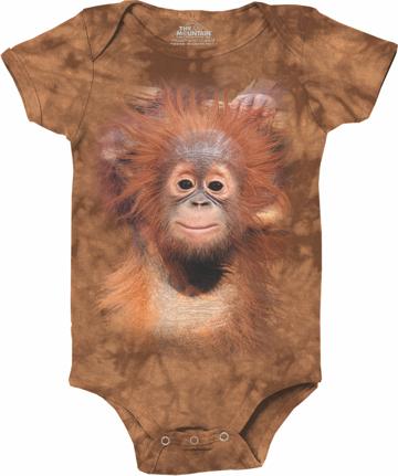 Orangutan Hang Baby Onesie