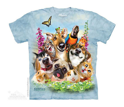 Pet Selfie Kids T-Shirt