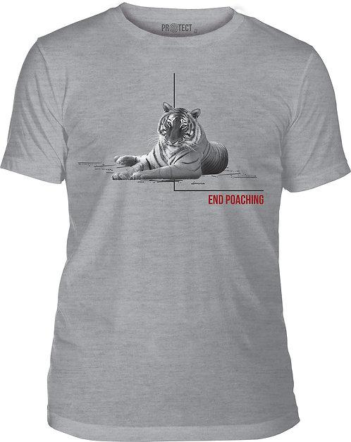 End Poaching Tiger Grey
