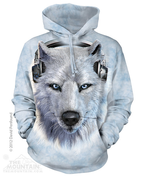 White Wolf DJ Hoodie