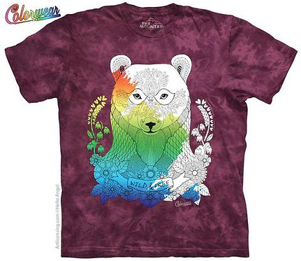 Animals 4 by Hello Angel Colorwear T-Shirt
