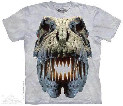 Kids Silver Rex Skull T-Shirt