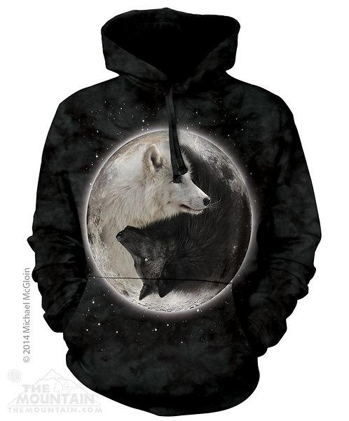 Yin Yang Wolves Hoodie