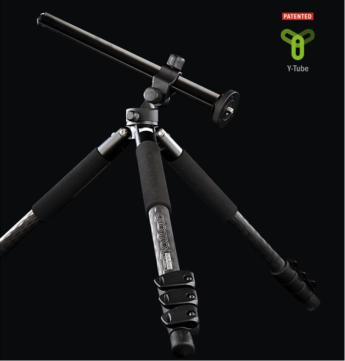 Giottos Silk Road YTL 8384 fiber carbon tripod