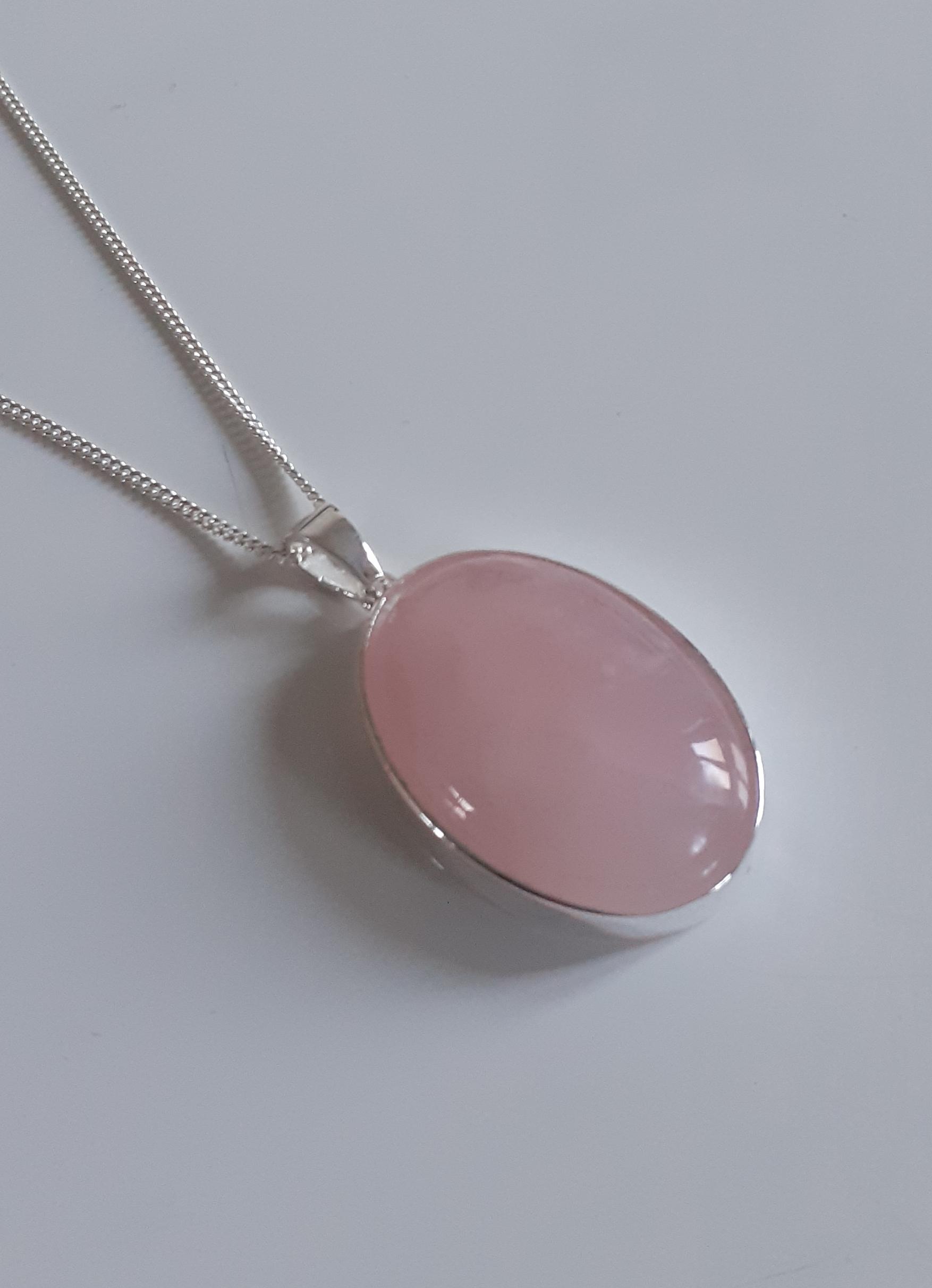 Beautiful rose quartz