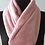 Thumbnail: handmade cuddle polar fleece rose pink scarf, cowl, infinity snood, neck warmer