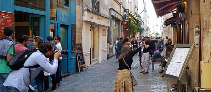 Paris-  Watch the watcher Series.