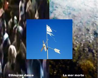 Ethiopian dance flag -וידאו ארט אתיופים