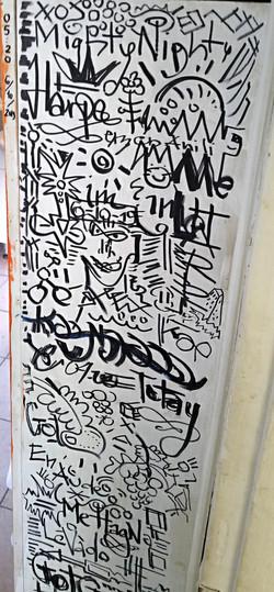 5 AM scribble