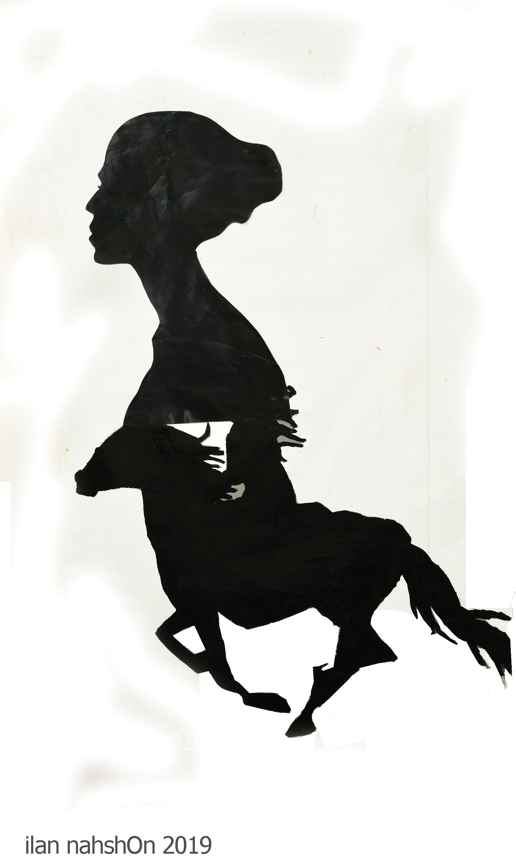 Rider Silhouette -ilan nahshOn