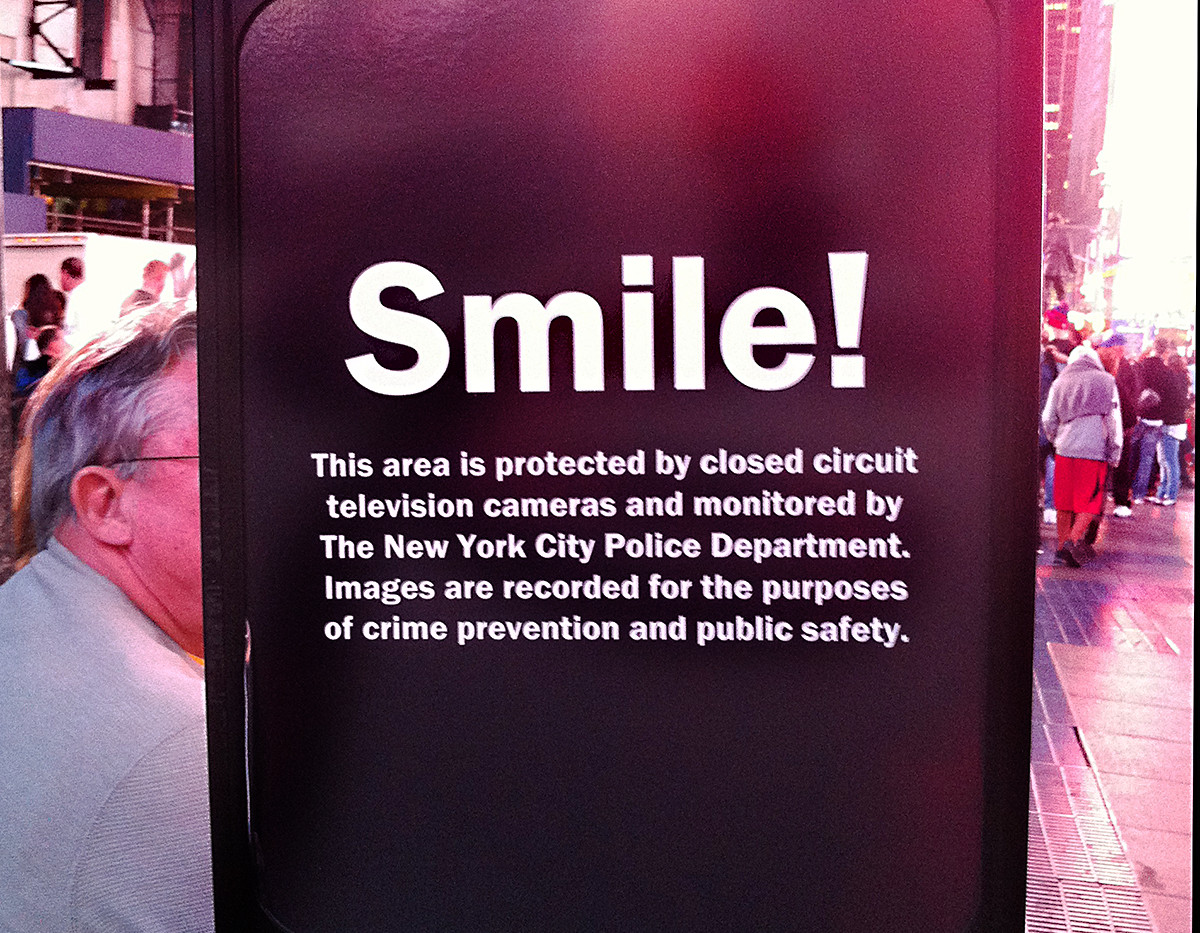 Times Square NY -  Smile ... [ ??!!]