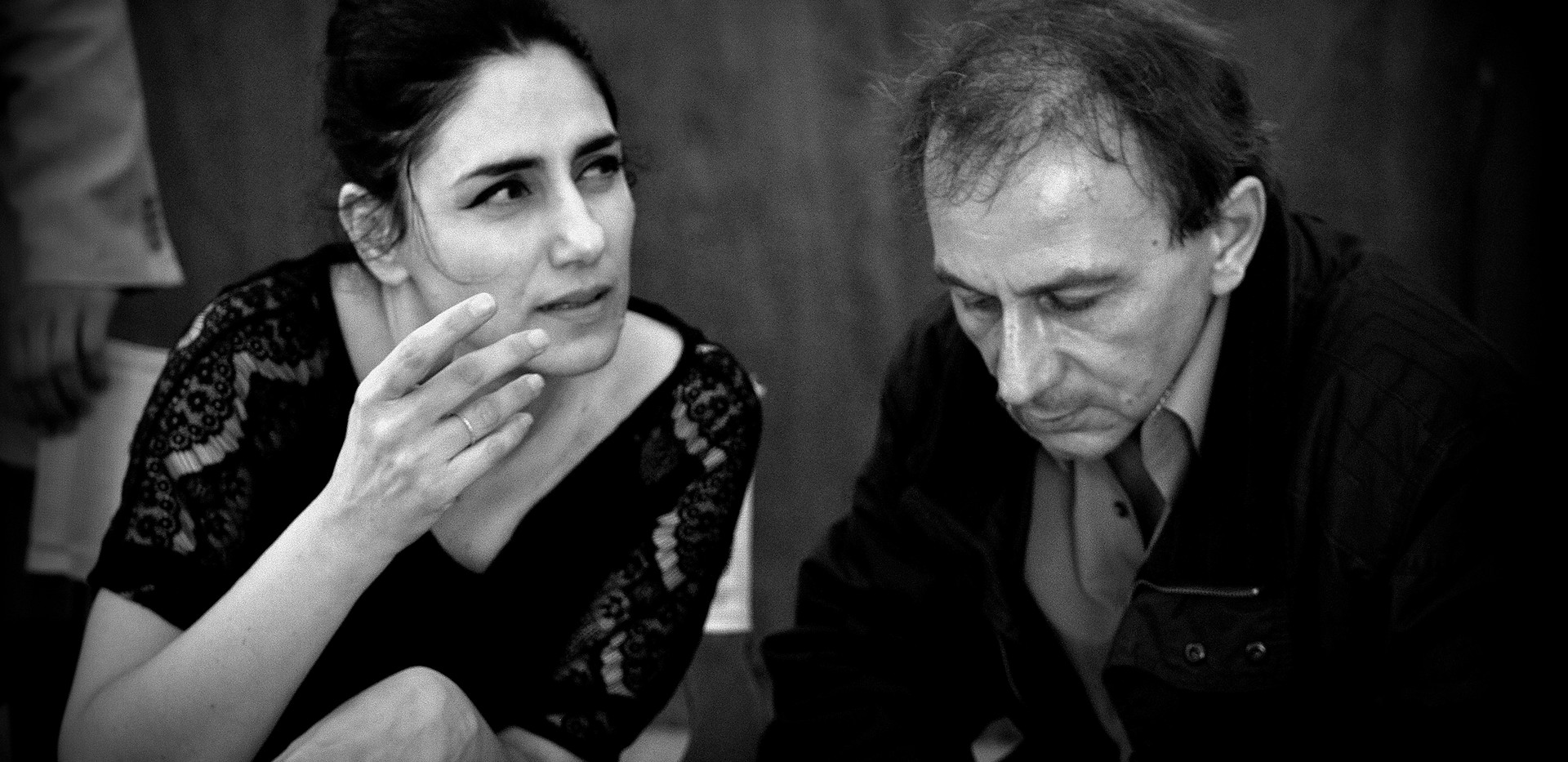 Ronit Elkabetz rip and michelle Houlbeqe