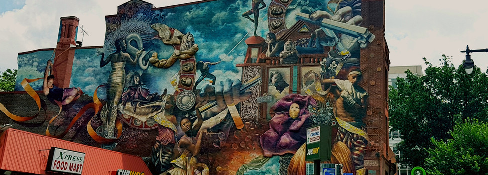 Philly US Mural