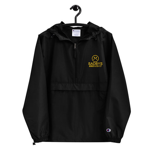 SAD B☹Y (JPN EDITION) Embroidered Champion Packable Jacket