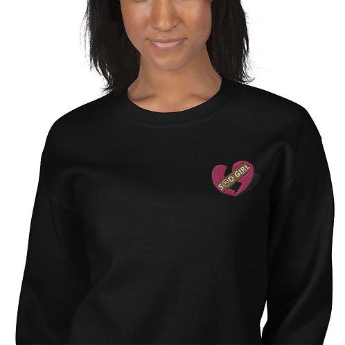 S☹D GIRL Unisex Sweatshirt