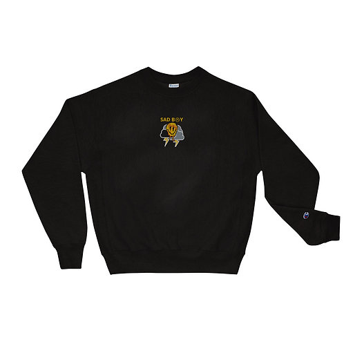 SAD B☹Y (ϟTHUNDER EDITIONϟ) Champion Sweatshirt