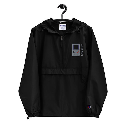 SAD B☹Y (GAME B☹Y EDITION) Embroidered Champion Packable Jacket