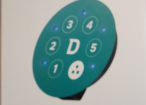 5 digit touchpad w/Lock and Unlock