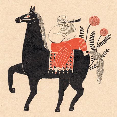 Piper on Horseback