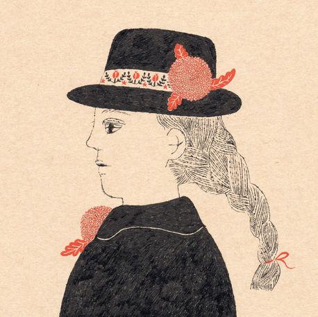 横顔 Profile