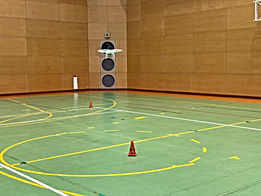 ドローン講習場所-体育館