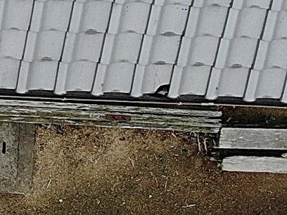 ドローン屋根撮影拡大画像