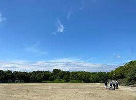 ドローン講習場所-白川ダム運動場