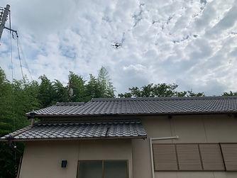 ドローン屋根点検