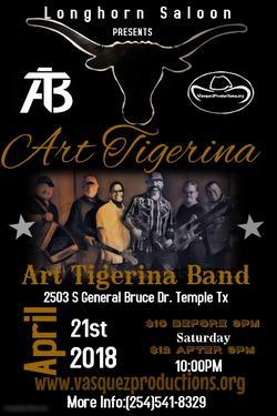 Art Tigerina and AT Band
