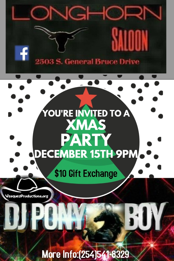 DJ Ponyboy (Xmas Party)
