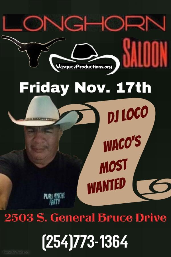 Waco's DJ Loco