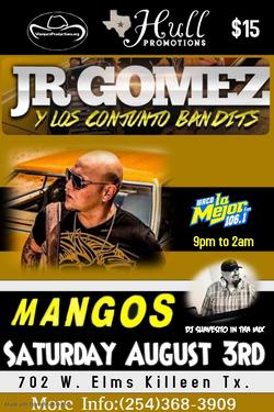 JR Gomez Y Los Conjunto Bandits