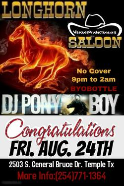 Ponyboy(Celebration)