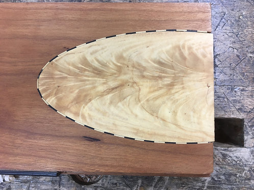Maple and oak cutting board