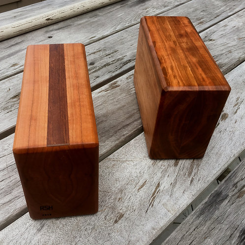 Sandalwood Yoga Blocks