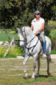 Equinoterapuia, profesora de equitacion