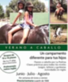 Campamentos a caballo con ingles