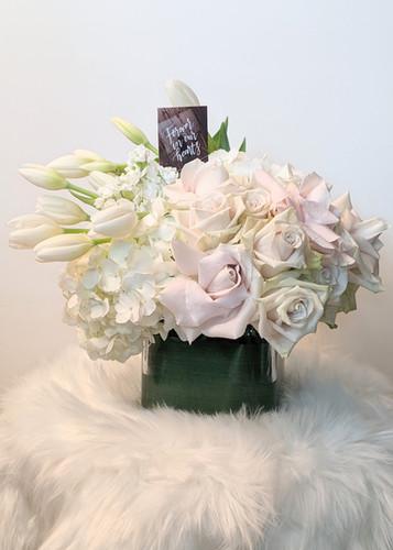 Med. Size Floral Arrangement with vase