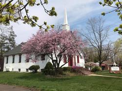 Church at Spring Time