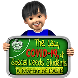 The Law, COVID-19, & Special Needs Students: A Matter of FAPE
