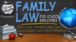 Family Law for School Employees Title Lo
